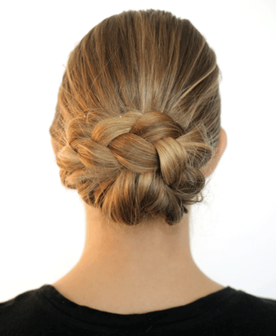 braided bun extensions