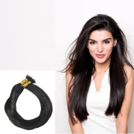 Nano Rings hair extensions